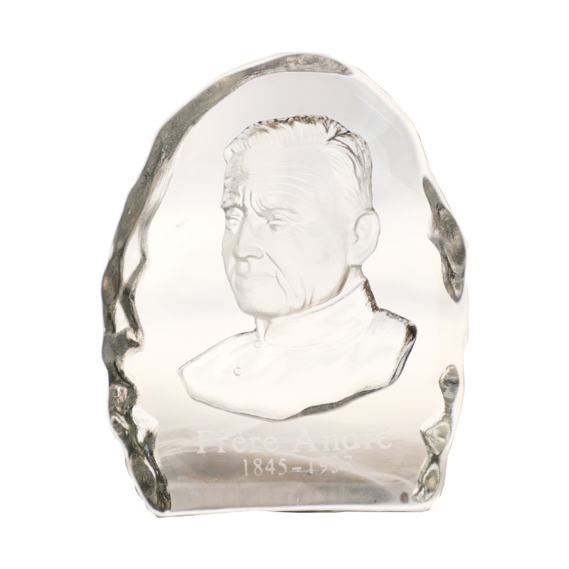 Glass trinket of Saint Brother André
