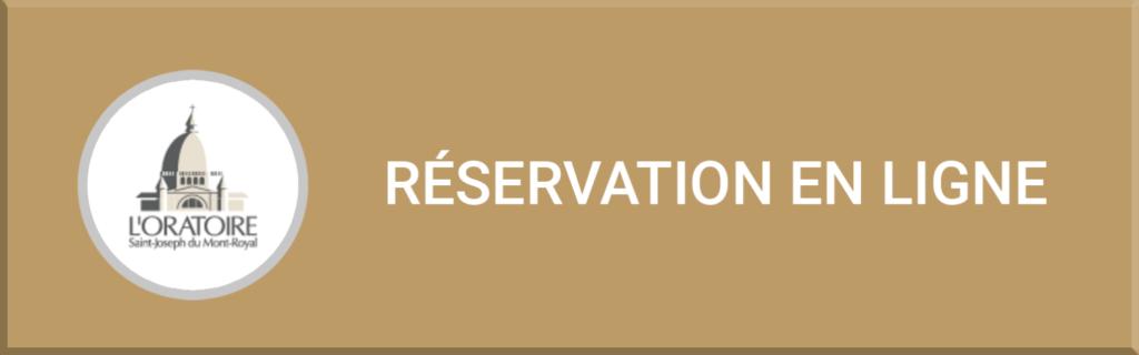 Réservation en ligne au Pavillon Jean XXIII