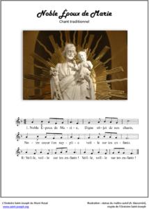 Prier Saint Joseph - Noble Époux de Marie