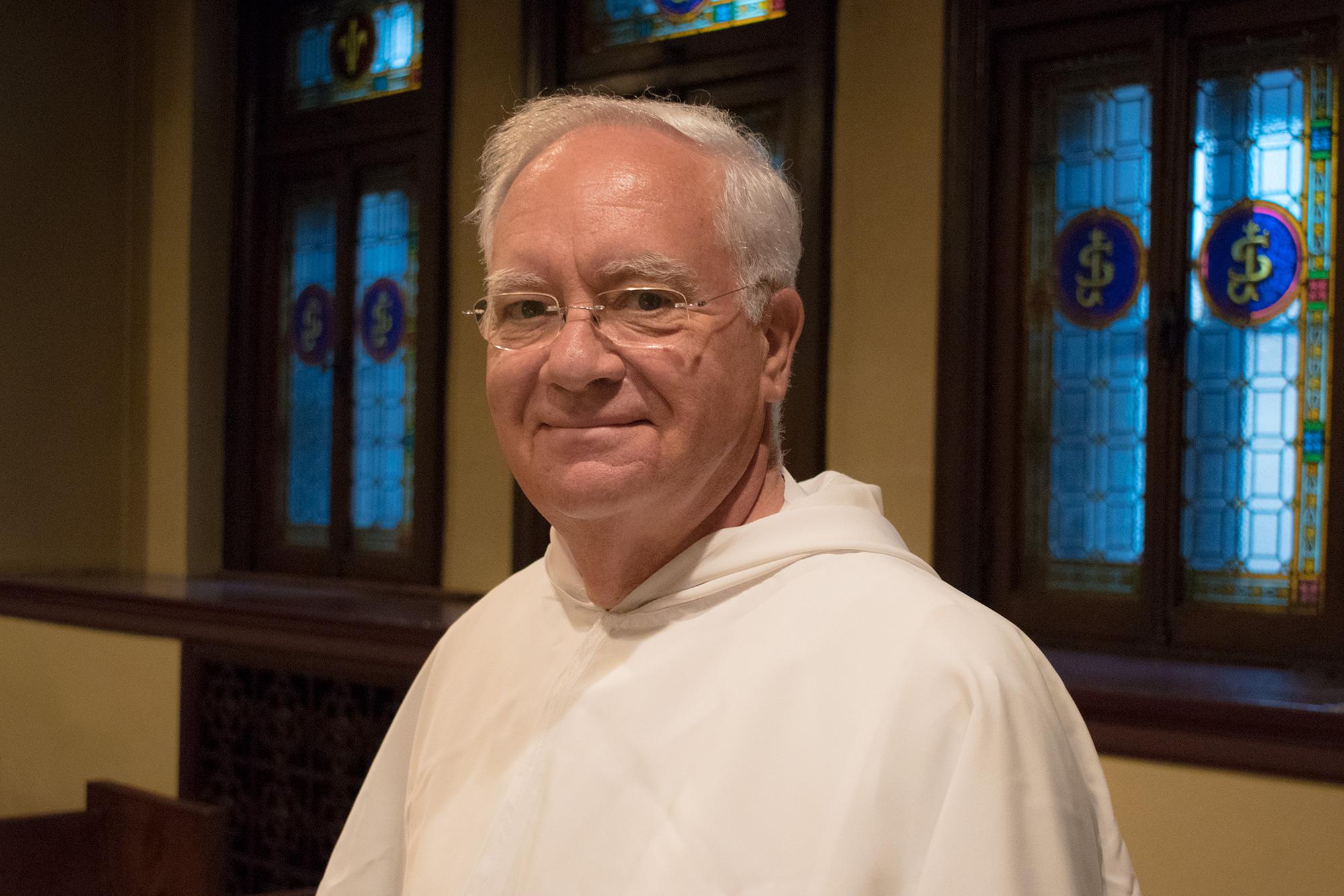 Bernard East, prédicateur de la neuvaine à saint Joseph 2018 à l'Oratoire Saint-Joseph