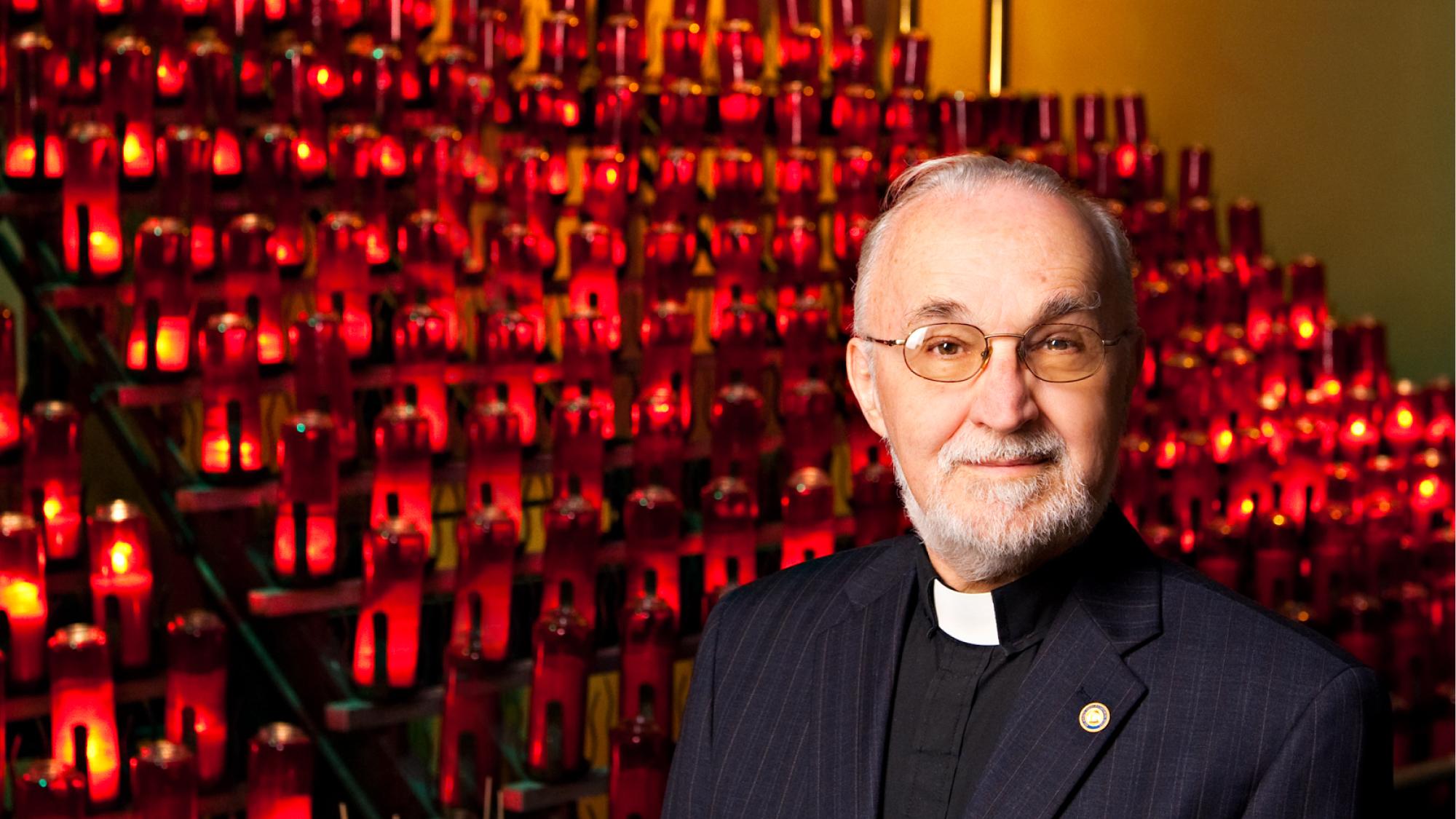 Message du Père Claude Grou, CSC.