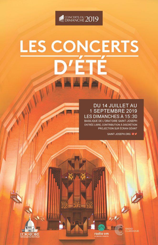 Affiche Concerts d'été 2019
