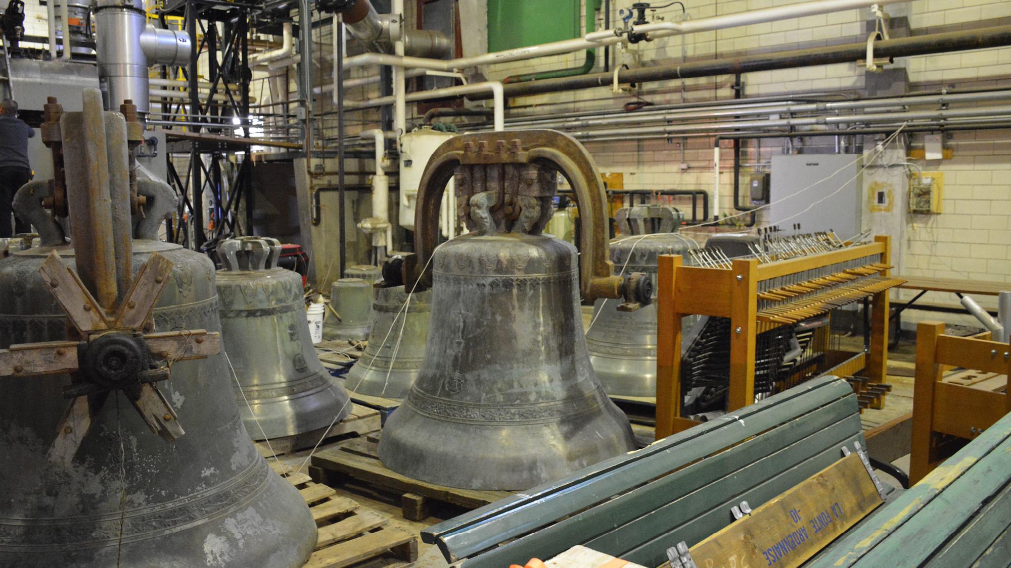 Des nouvelles du Carillon de l'Oratoire Saint-Joseph…