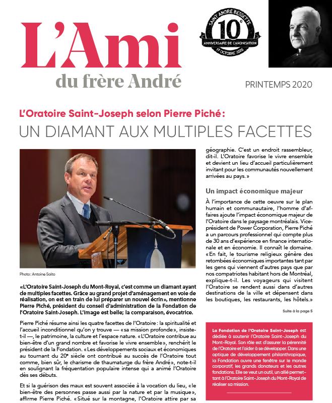 couverture L'AMI Printemps 2020