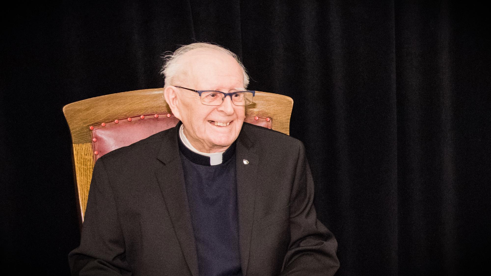 Décès de père Marcel Lalonde, c.s.c – Un bâtisseur de l'Oratoire n'est plus