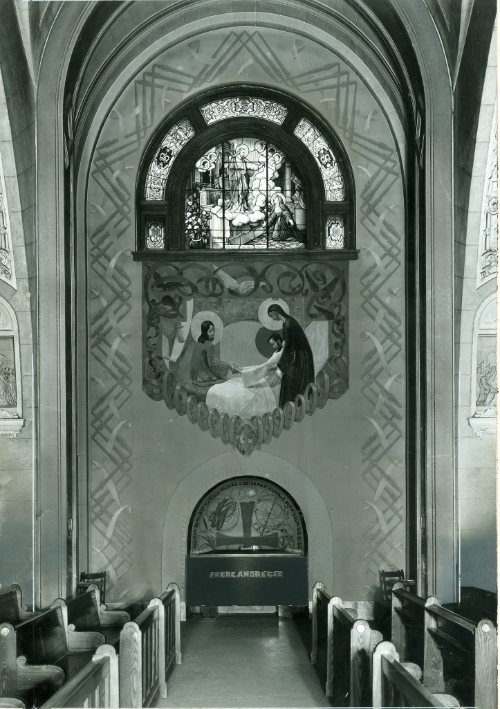 Tombeau crypte Oratoire