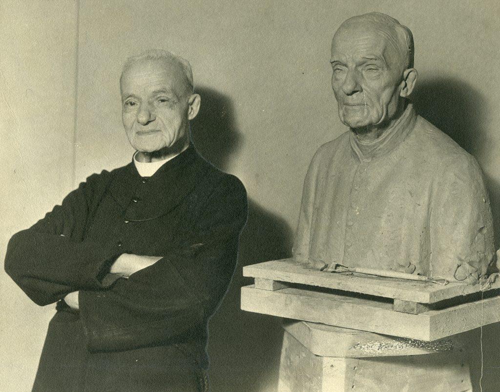 Frere Andre sculpture